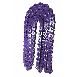 Mission Half-Link Chaines BMX Violet