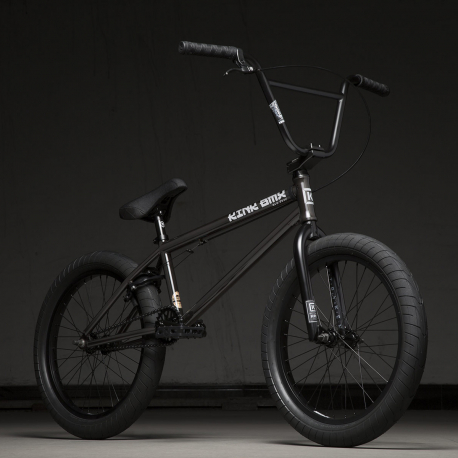 Kink Gap XL 21 2020 Gloss Trans Black BMX Bike