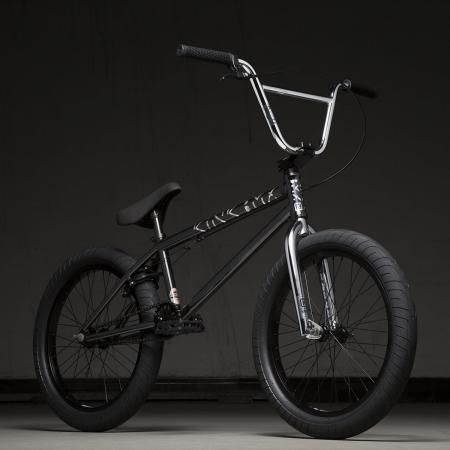 Kink Launch 20.25 2020 Gloss Guinness Black BMX Bike