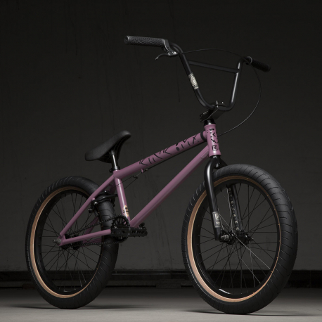 Kink Launch 20.25 2020 Matte Dusk Lilac BMX Bike