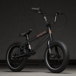Kink Pump 14 2020 Matte Guinness Black BMX Bike