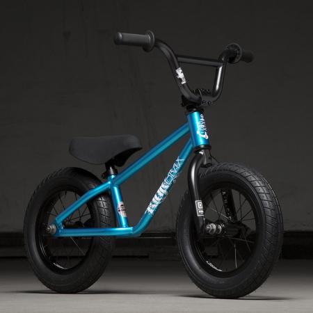 Kink Coast 12 2020 Gloss Atomic Blue BMX Bike