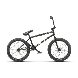 Radio COMRAD 21 black with green flake BMX bike