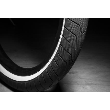 KINK Sever 2.4 black with white wall Tire