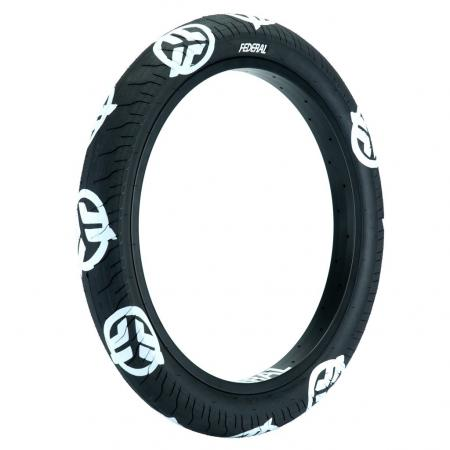 Federal Command LP 2.4 black with white logo BMX tire