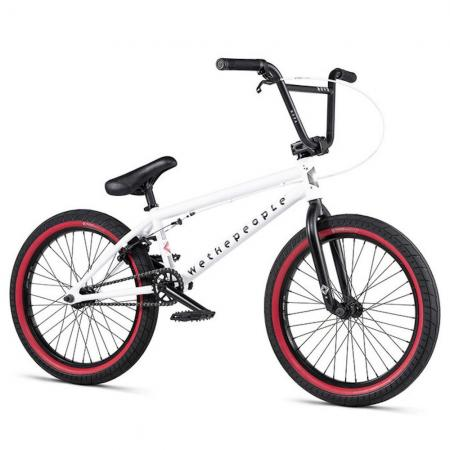 WeThePeople NOVA 2020 20 matt white BMX bike