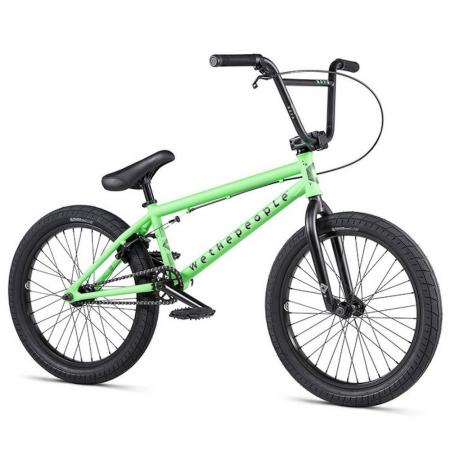 WeThePeople NOVA 2020 20 apple green BMX bike