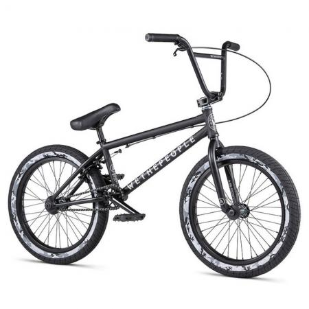 WeThePeople ARCADE 2020 20.5 matt black BMX bike