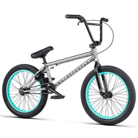 WeThePeople ARCADE 2020 20.5 matt raw BMX bike