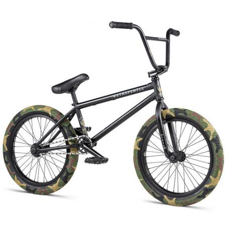 WeThePeople JUSTICE 2020 20.75 matt black BMX bike