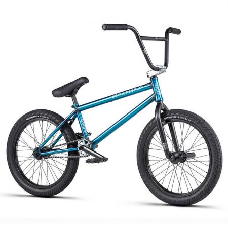 WeThePeople CRYSIS 2020 21 matt translucent teal BMX bike
