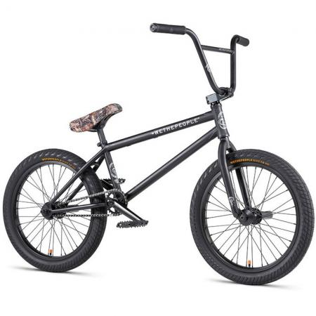 WeThePeople CRYSIS 2020 21 matt black BMX bike
