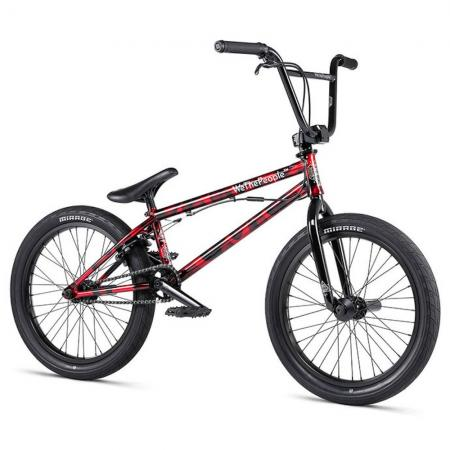 WeThePeople VERSUS 2020 20.65 brushed metallic red BMX bike