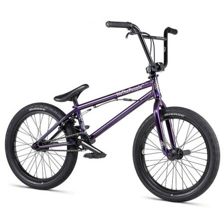 WeThePeople VERSUS 2020 20.65 wizard translucent teal BMX bike