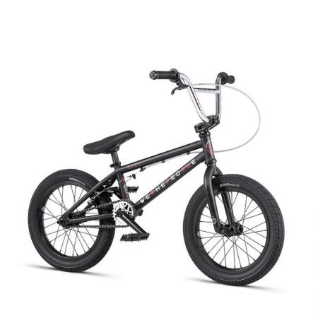 WeThePeople SEED 16 2020 16 matt black BMX bike