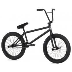 Fiend Type A+ 2020 flat trans black BMX bike