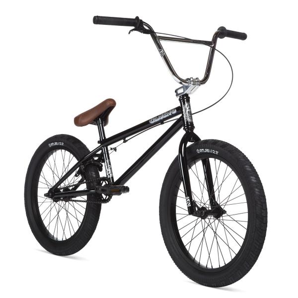 STOLEN CASINO 2020 20.25 Black with Chrome BMX bike