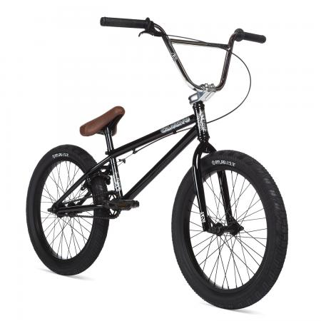 STOLEN CASINO XL 2020 21 Black with Chrome BMX bike