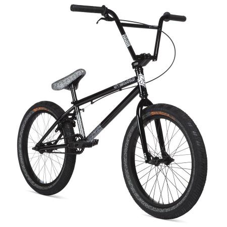 STOLEN OVERLORD 2020 20.25 black with reflective grey BMX bike