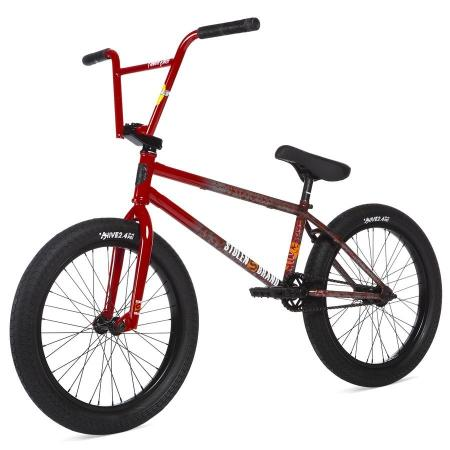 STOLEN SINNER FC 2020 21 LHD RoadKill Red Splatter Fade BMX bike