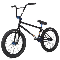 STOLEN SINNER FC XLT 2020 21 LHD Black with Dark Blue Anodized Parts BMX bike