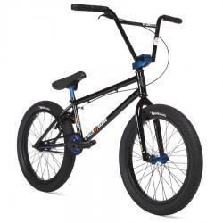 STOLEN SINNER FC XLT 2020 21 RHD Black with Dark Blue Anodized Parts BMX bike