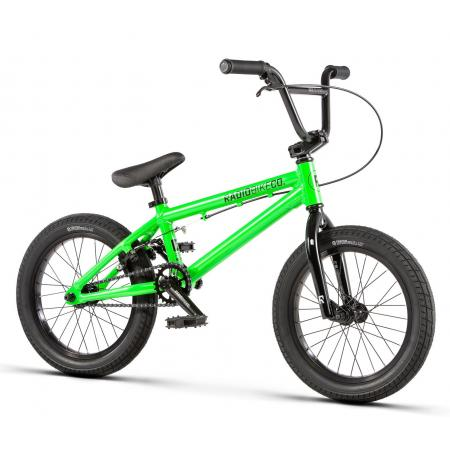 Radio DICE 16 2020 16 neon green BMX bike