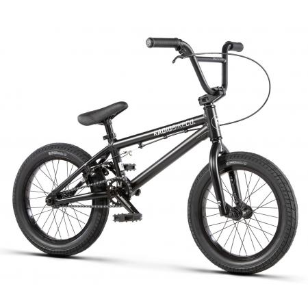 Radio DICE 16 2020 16 matt black BMX bike