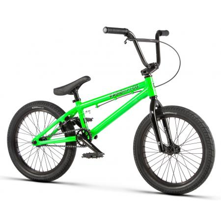 Radio DICE 18 2020 18 neon green BMX bike