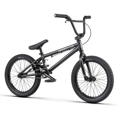 Radio DICE 18 2020 18 matt black BMX bike