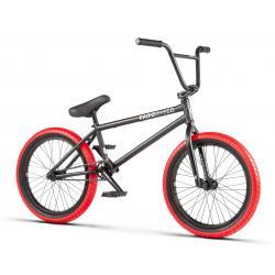 Radio Darko 2020 20.5 matt black BMX bike