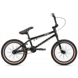 Haro Downtown 16 2020 16 gloss black BMX bike