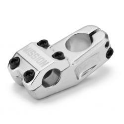 Mission Control 50mm silver BMX stem