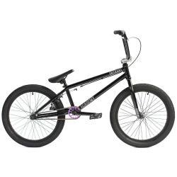 Academy Entrant 2020 19.5 Gloss Black with Rainbow BMX bike