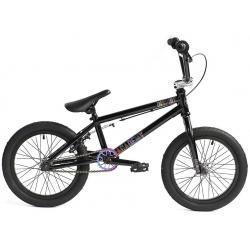 Academy Inspire 16 2020 Gloss Black with Rainbow BMX bike