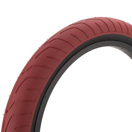 KINK Sever 2.4 red with back wall BMX tire