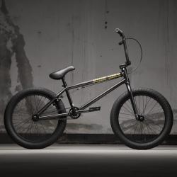 KINK Gap 2021 Gloss Black Chrome BMX bike