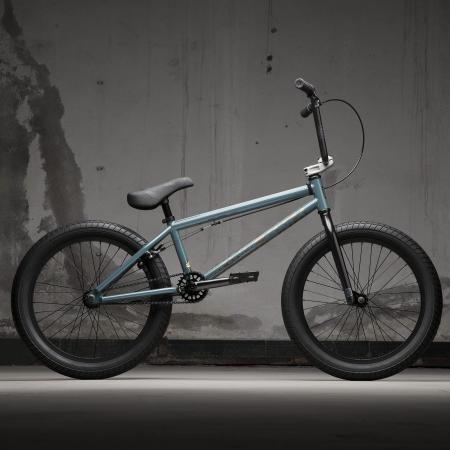 KINK Launch 2021 Gloss Digital Lime BMX bike
