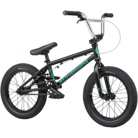 Wethepeople Seed 16 2021 Matt Black BMX Bike For Kids