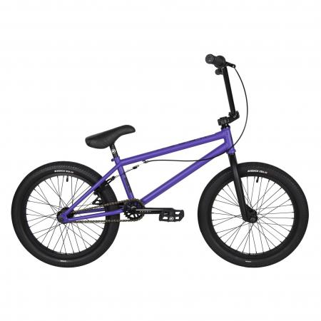 Kench Street CRO-MO 2021 21 purple BMX bike