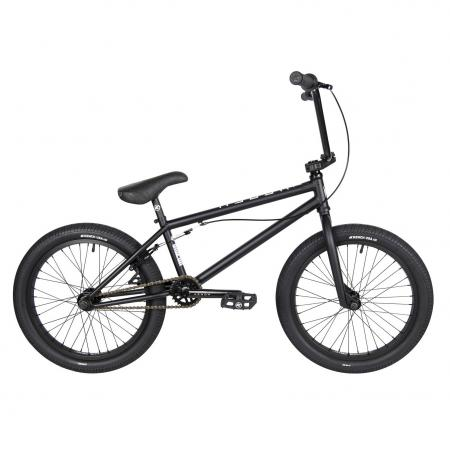 Kench Street CRO-MO 2021 21 black BMX bike